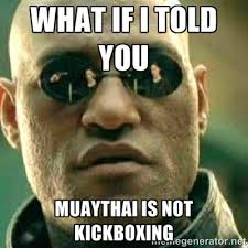 Muay Thai Memes - mississauga muay thai clinch focus on the missing link