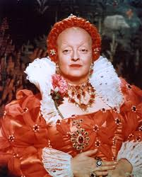 Betty Davis Daughter by The Virgin Queen 1955 Bette Davis As Elizabeth I Queen Of