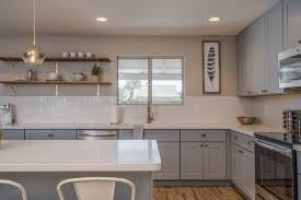 Grey Cabinet Kitchen Buy Online Ash Gray Shaker Rta Cabinets With Attractive Designs