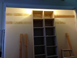 Diy Build Shelves In Closet by Tremendous Build A Closet Shelf And Rod Roselawnlutheran