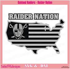 lime slice silhouette oakland raiders nation map design with your silhouette studio