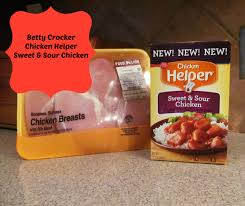 friday foodie feature betty crocker chicken helper fashion and