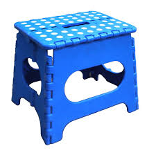 amazon com jeronic 11 inch folding step stool blue toys u0026 games