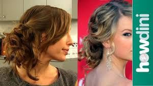How To Formal Hairstyles by Messy Updo Hairstyles How To Do Taylor Swift U0027s Messy Side Swept