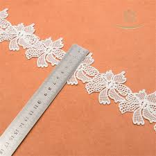 wholesale lace ribbon 150yd wholesale beautiful white color net lace trim embroidered