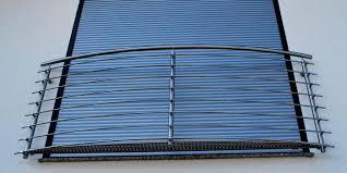 balkon stahlkonstruktion preis französische balkone absturzsicherungen aus edelstahl niro