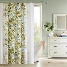 Botanical Shower Curtains Shower Curtains Bathroom Facelift
