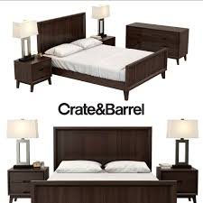 Crate And Barrel Dubois Mirror by Crate And Barrel Tate Collection 3d Model Max Obj Fbx Mtl Crate