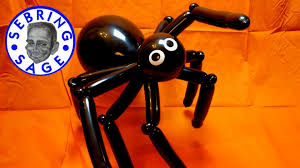 giant spider decorations for halloween halloween giant spider balloon youtube