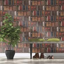 books wallpaper rasch library books wallpaper 934809 amazon co uk diy u0026 tools