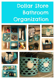 organized bathroom ideas dollar store bathroom organizing the craft