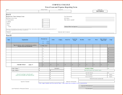 Expense Report by Expense Report Form Sponsorship Letter
