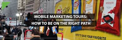 mobile marketing tours how to be on the right path eventpro