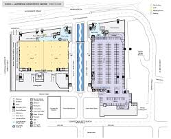 Loading Dock Floor Plan by Venues David L Lawrence Convention Center