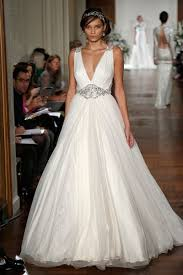 plunging neckline wedding dress 15 wedding dress details you will fall in with