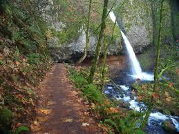 Oregon Waterfalls Map by The Horsetail Triple Falls Loop Hiking