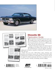 chevelle ss restoration guide motorbooks workshop paul herd