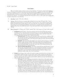 writing a paper format writing a thesis outline nativeagle com