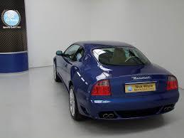 maserati blue interior maserati 4200 v8 coupe cambiocorsa nick whale sports cars