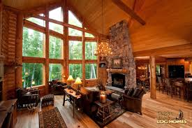 Log Cabin Luxury Homes Golden Eagle Log And Timber Homes Log Home Cabin Pictures