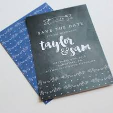 Affordable Save The Dates Chalkboard Save The Date Card By Rose Sponseller On Postable Com