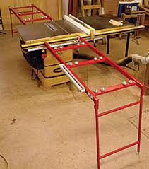 Ridgid Table Saw Extension Table Saw Outfeed Table Woodworking Plans With Brilliant