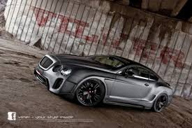 widebody bentley bentley continental gt tuned by vilner freshness mag