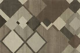 Modern Rug Designs Interior Designs Sleek Pattern Rug On The Modern Wall In