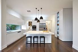 kitchen luxurious marble kitchen features white lacquered