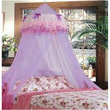 Girls Princess Canopy Bed by Purple Bed Princess Canopy Lace Polyester Mosquito Net Beauty
