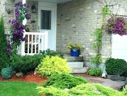 image of house landscaping in front of house landscape design pictures front of