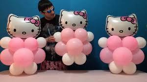 hello centerpieces easy hello balloon decorations