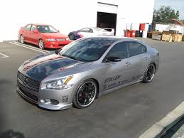 stillen 2009 nissan maxima sema project car progress finished