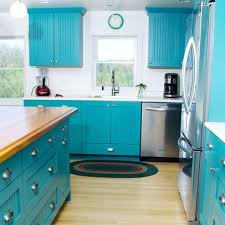 charming teal cabinets kitchen and best 10 turquoise kitchen