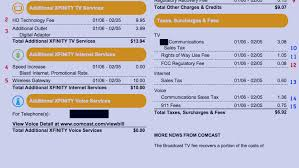 the consumerist guide to understanding your comcast bill u2013 consumerist