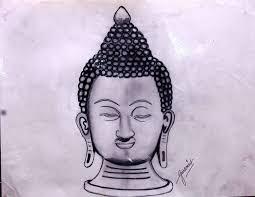 pencil sketch of mahatma budh desipainters com