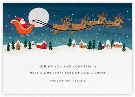 christmas cards online at paperless post