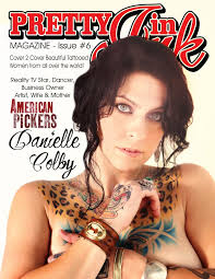 photo danielle colby s pretty in ink magazine cover starcasm