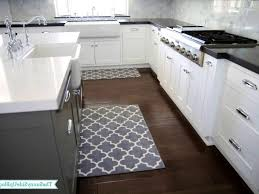kitchen rugs kitchen throw rugs runner mat blue black and white