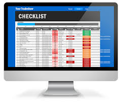 Event Planner Checklist Template The Ultimate Trade Show Checklist Premium Excel Template