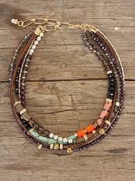 leather necklace with beads images 567 best jewelry mixed materials connections etc images on jpg