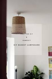 waste basket lampshade tutorials paper basket and craft