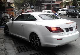 lexus mobil modifikasi pelek mobil lexus dengan pelek bbscf hsr r20 lexus