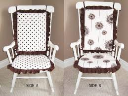 Nursery Rocking Chair Pads Rocking Chair Cushions For Nursery Glider Benefits Of A Rocking