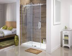 frameless sliding glass shower door frosted bathtub sliding shower doors