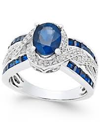 sapphire rings images Sapphire rings macy 39 s 5,0&a