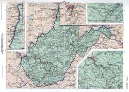 West Virginia Road Map by West Virgina Mapfree Maps Of Us