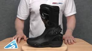 sport motorcycle shoes spyke wet race wp boot review youtube