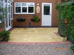 Slabbed Patio Designs Powerpave Patio Installer In Torquay Uk
