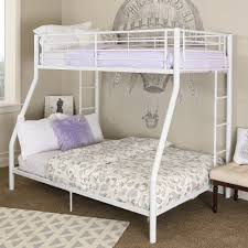 Bunk Bed White White Metal Bunk Bed Rc Willey Furniture Store